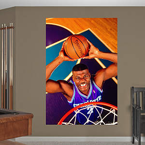Larry Johnson Mural Fathead Wall Decal